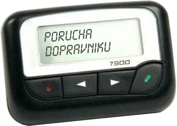 Pager Commtech Wireless 7900
